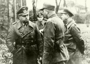 Йоханнес Фриснер на Северном фронте. 1944 г.