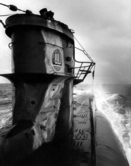 Подлодка «U-83» в северной Атлантике. Октябрь 1941 г.