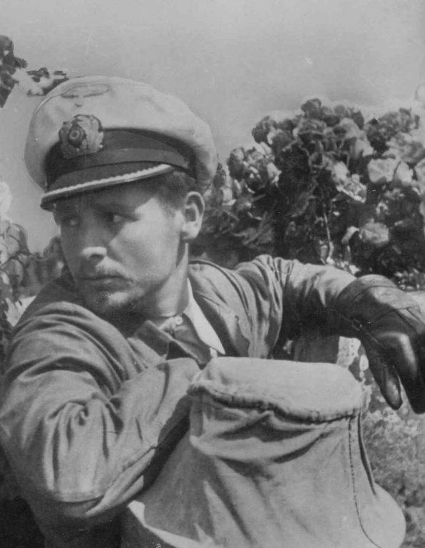 Командир подлодки «U-46» Энгельберт Эндрасс. 1941 г.