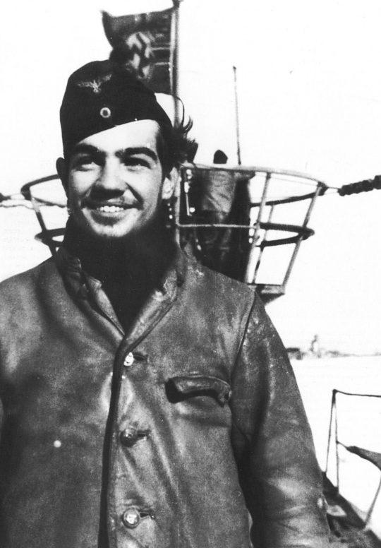 Механик подлодки «U-48» обер-ефрейтор Ганс Бауэр. 1943 г.