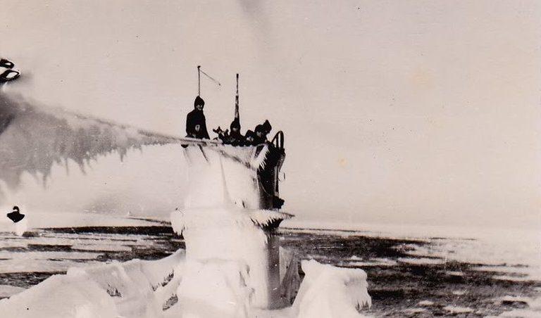 Арктическое патрулирование подлодки «U-142». Февраль 1944 г.