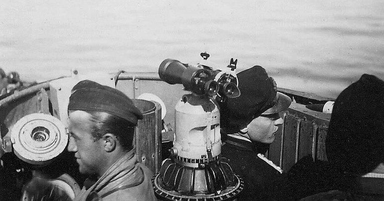 Подлодка «U-52» в море. 1941 г.