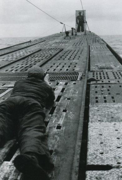 «Тир» на палубе подлодки «U-177». Февраль 1944 г.