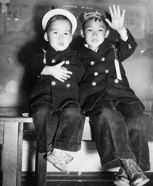 Эти тоже «шпионы» по мнению американских военных. 1942 г.
