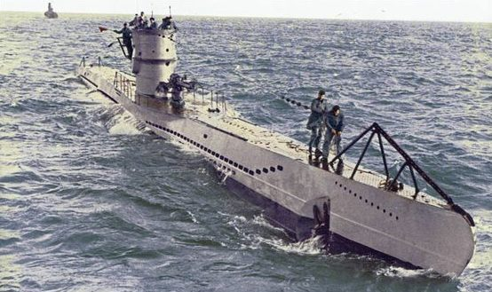 Подлодка «U-101» в море. 1941 г.