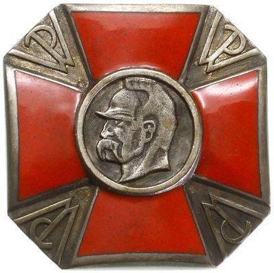 Памятный знак инструктора кавалерии организации «Przysposobienie Wojskowe».
