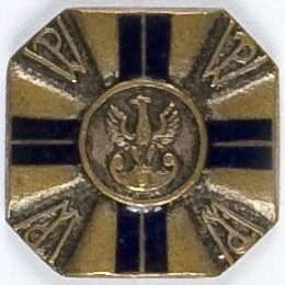 Памятные знаки инструктора военной подготовки 2-й степени организации «Przysposobienie Wojskowe».