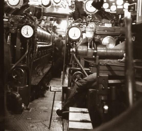Отсеки подлодки «U-166». Май 1942 г.