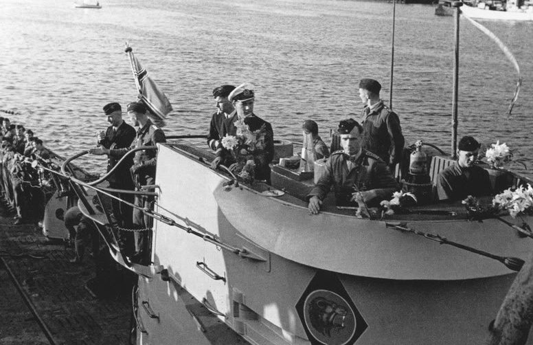 Подлодка «U-66» уходит в поход. 23 июня 1942 г.