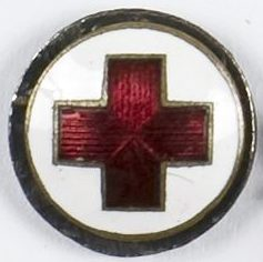 Памятный знак сотрудника Польского Красного Креста.