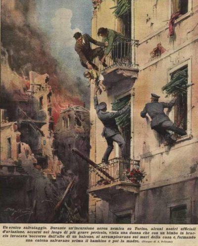 Пропагандистские плакаты Италии.