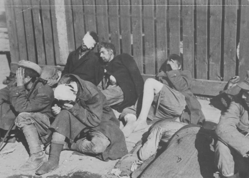 Раненные повстанцы. Август-сентябрь 1944 г.