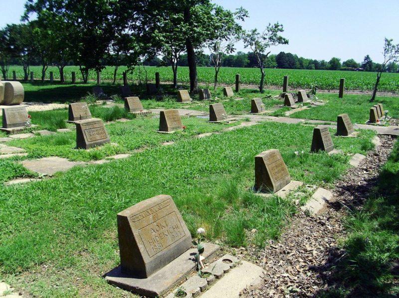 Кладбище лагеря «Rohwer» в штате Арканзас.