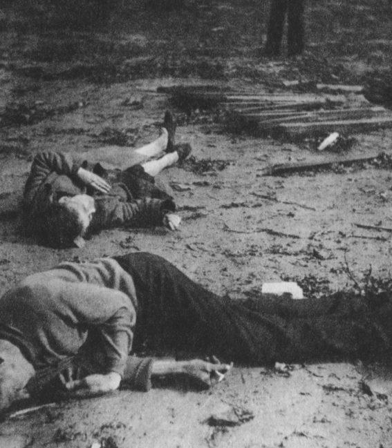 Жертвы немецких авианалетов. Август-октябрь 1944 г.