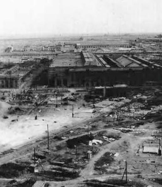 Разрушенный город. Весна 1944 г.