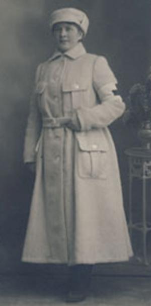 «Лотта-медсестра». 1918 г.