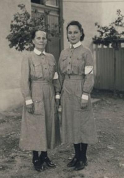 «Лотты» в униформе образца 1922 г.