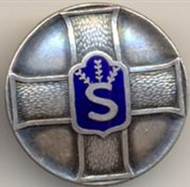 Аверс и реверс знака «За достижения» Шюцкора 1-го класса.