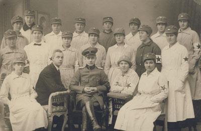 «Лотты» на ветеринарных курсах. 1918 г.