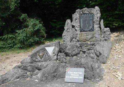 Муниципалитет Нандрин (Nandrin). Памятник жертвам войны 5 сентября 1944 г.