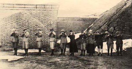 «Лотты» в финской красной гвардии. 1918 г.