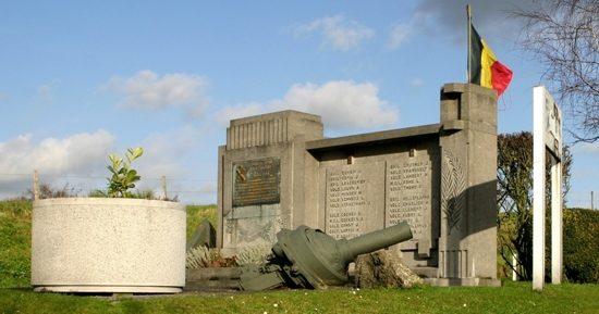 Муниципалитет Neufchateau. Памятник погибшим воинам форта Обен-Нюфчато в 1940 г.