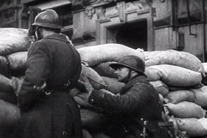 «Оборонительные» сооружения города, которые не использовались. Май 1940 г.