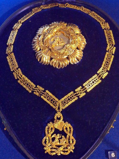 Орден Святого Благовещения с Малой цепью и звездой.