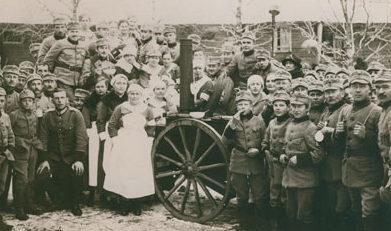 «Лотты» на военных маневрах. Ноябрь 1920 г.