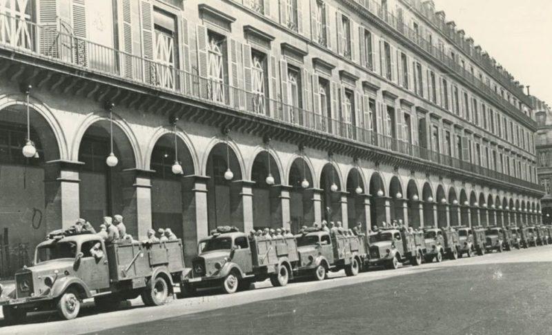 Немцы занимают город. Июнь 1940 г.
