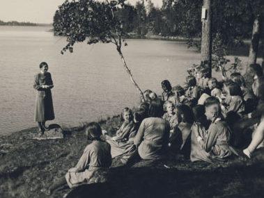 «Лотты» в походе. 1934 г.