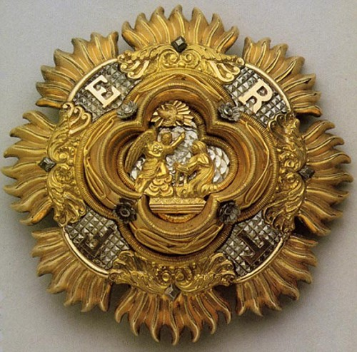 Разновидности Звезды ордена Святого Благовещения.