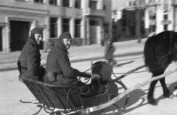 Русские санки. Январь 1942 г.