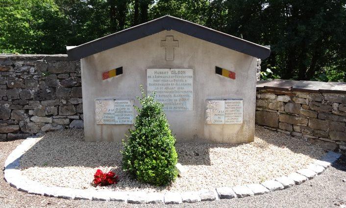 Коммуна Esneux. Памятник трем депортированным погибшим в нацистских концентрационных лагерях.