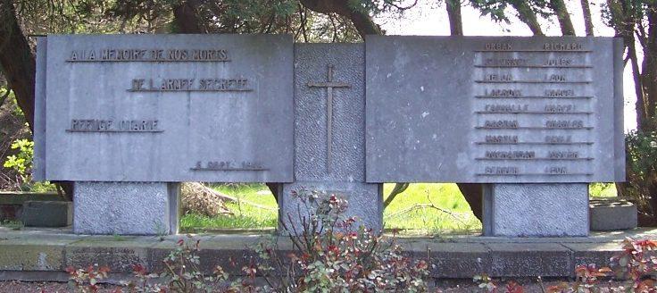 Муниципалитет Omal. Памятник воинам, погибшим в годы Второй мировой войны.