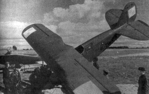 Красноармейцы на польском аэродроме. Сентябрь 1939 г.
