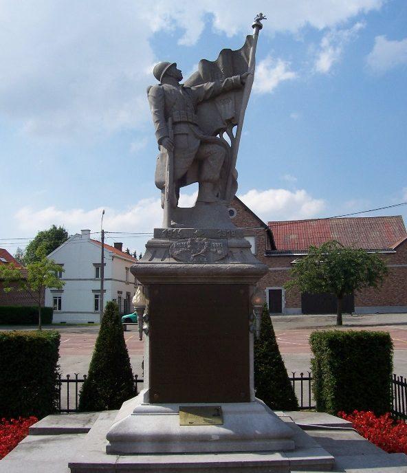 Муниципалитет Othee. Памятник погибшим воинам и жертвам обеих войн.