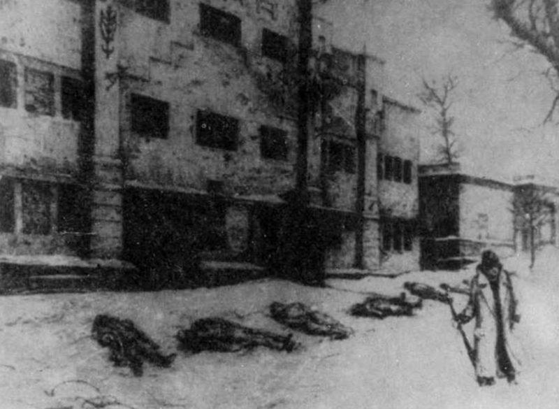 Жертвы оккупации. Январь 1942 г.