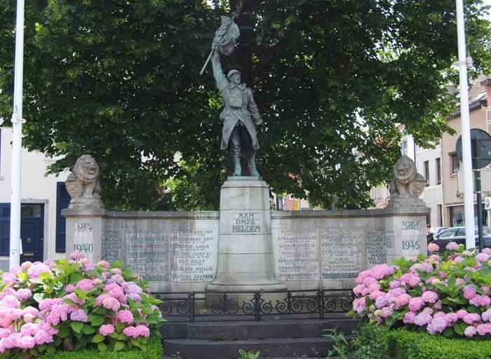 Муниципалитет Tervuren. Военный мемориал.