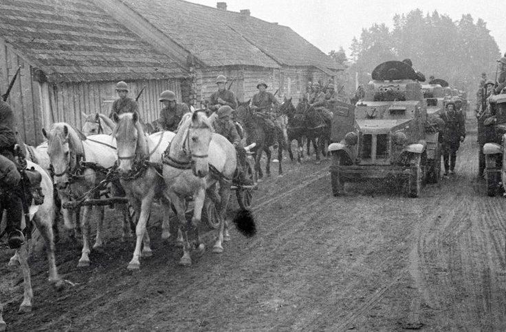 Красная Армия в Западной Украине. Сентябрь 1939 г.