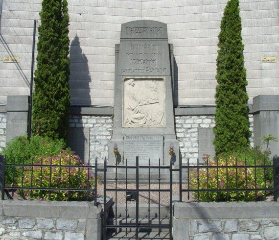 Муниципалитет Антеита. Памятник жертвам обеих войн.