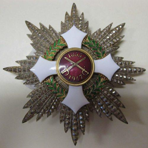 Звезда Военного орден Италии.