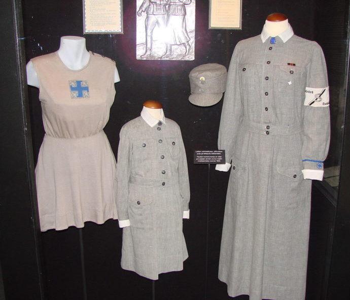 Униформа «лотт» в музее.