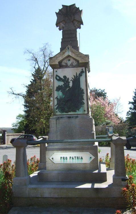 г. Bierges. Памятник воинам обеих мировых войн.