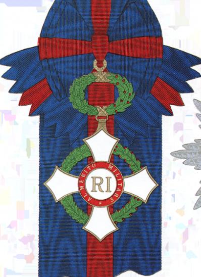 Рисунок Большого креста Военного ордена.