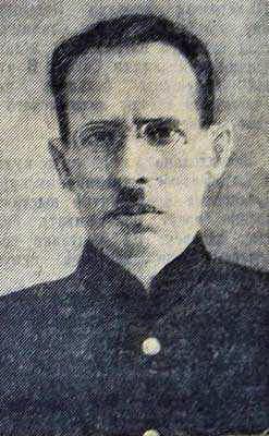 Генерал-майор береговой службы Благовещенский И.А., в последствии – генерал-майор РОА.