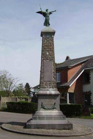 Муниципалитет Plainevaux. Военный мемориал обеих войн.