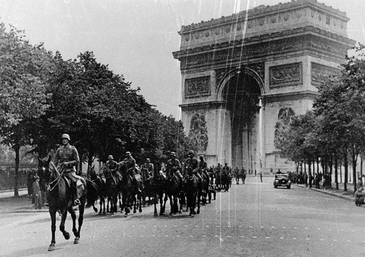 Немецкий парад. 14 Июня 1940 г.
