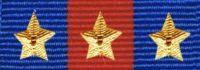 Лента к орденской колодке с 1947 г.