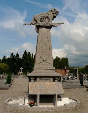 Муниципалитет Fleron. Военный мемориал обеих войн.